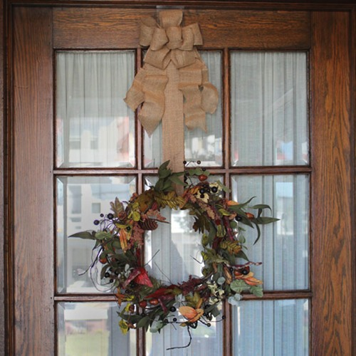 Wreath Pro used on door